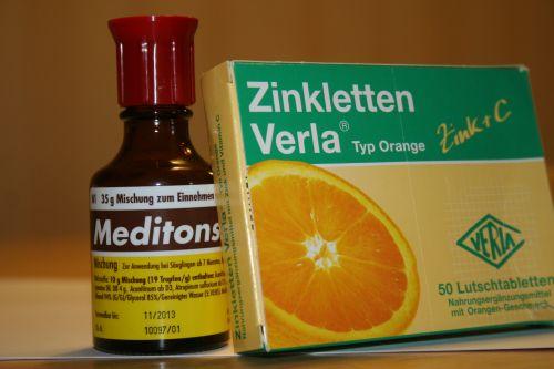 Meditonsin und Zink helfen bei Erkältung